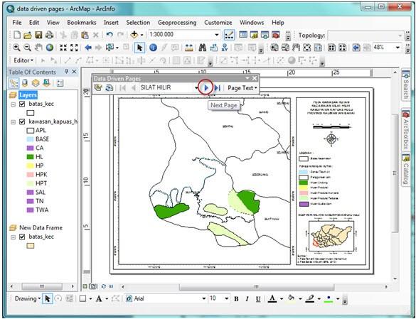 Analisis Spasial dengan ArcGIS
