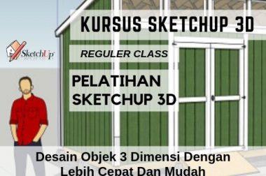 KURSUS SKETCHUP 3D