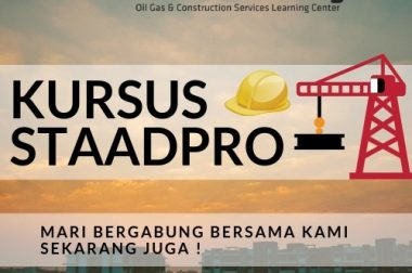KURSUS STAADPRO FOR STRUCTURE ANALYSIS AND DESIGN