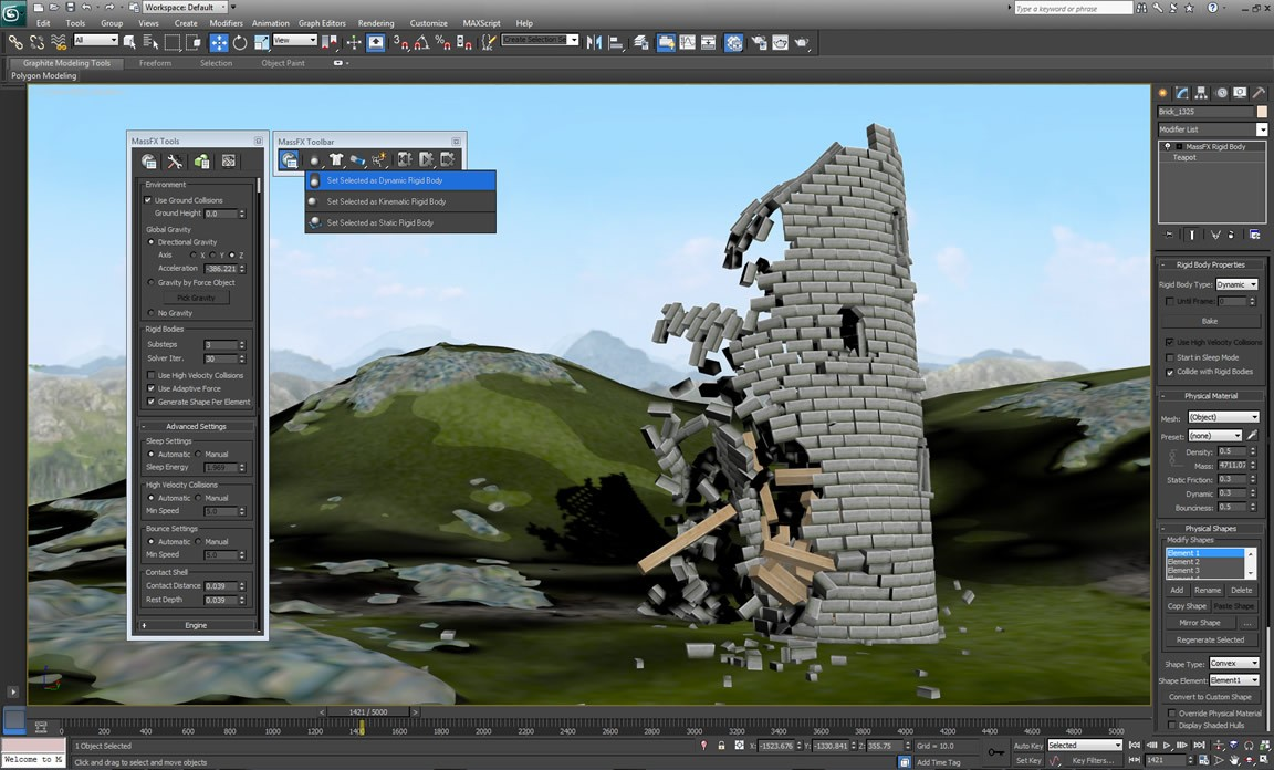 Membuat Grafik Vektor 3D dan Animasi Menggunakan 3D's Max