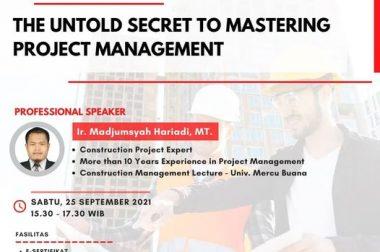 WEBINAR THE UNTOLD SECRET TO MASTERING PROJECT MANAGEMENT
