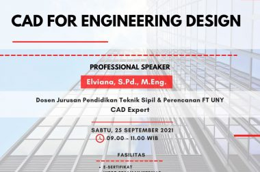 WEBINAR CAD FOR ENGINEERING DESIGN