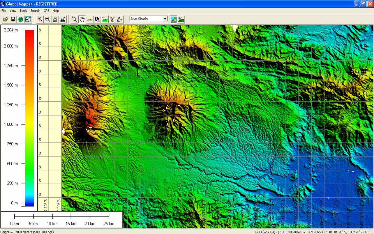 Mengelola GIS dengan Global Mapper