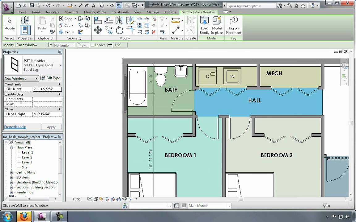 Membuat dan Menggunakan Model Virtual Dari Bangunan Menggunakan Revit